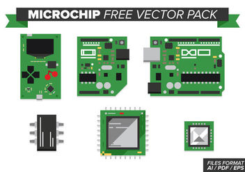 Microchip Free Vector Pack - бесплатный vector #369255