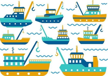 Free Tugboat Vector - Free vector #369275