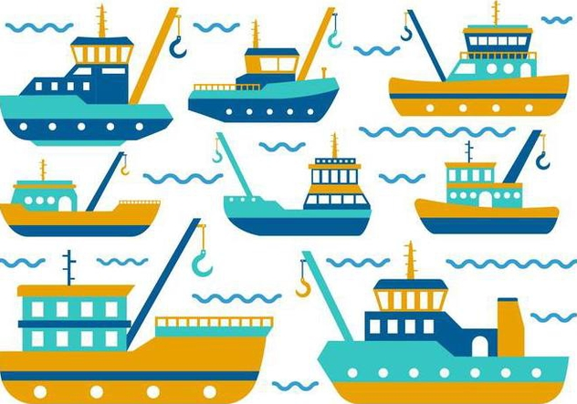 Free Tugboat Vector - бесплатный vector #369275
