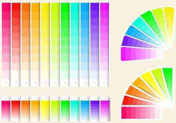 Free Color Swatches Vector - Kostenloses vector #369415