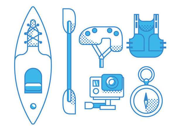 Vector Kayak - Free vector #369645