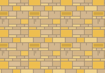 Free Stone Wall Vector Graphic 2 - vector gratuit #370135