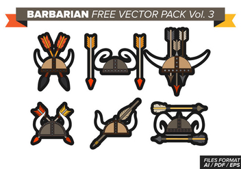Barbarian Free Vector Pack Vol. 3 - vector gratuit #370165