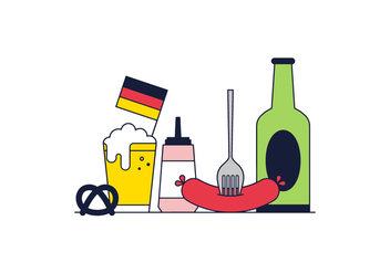 Free Germany Vector - vector #370385 gratis