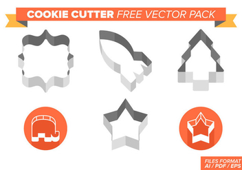 Cookie Cutter Free Vector Pack - Kostenloses vector #370425