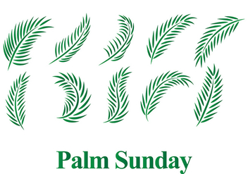 Free Palm Sunday Vector - vector gratuit #370575