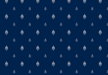 Batik Indian Pattern - Kostenloses vector #370765