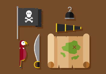Vector Pirates - Free vector #370825
