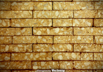 Cracked Brick Wall Vector Background - Kostenloses vector #370845