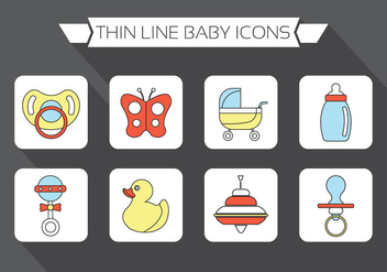 Baby Vector Elements - vector gratuit #370945