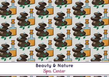 Free Vector Spa Pattern - vector #371065 gratis