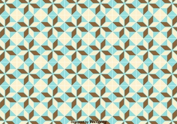 Simple Geometric Pattern/Tiles Pattern - Free vector #371185