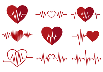 Free Heart Monitor Vectors - бесплатный vector #371355