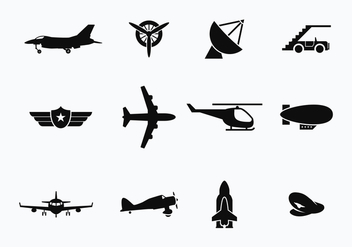 Free Avion and Transportation Vectors - бесплатный vector #371755