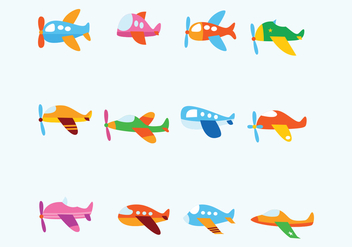 Free Fun Avion Vector - vector gratuit #371795