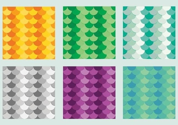 Free Fish Scales Vector Pattern 3 - Free vector #372205