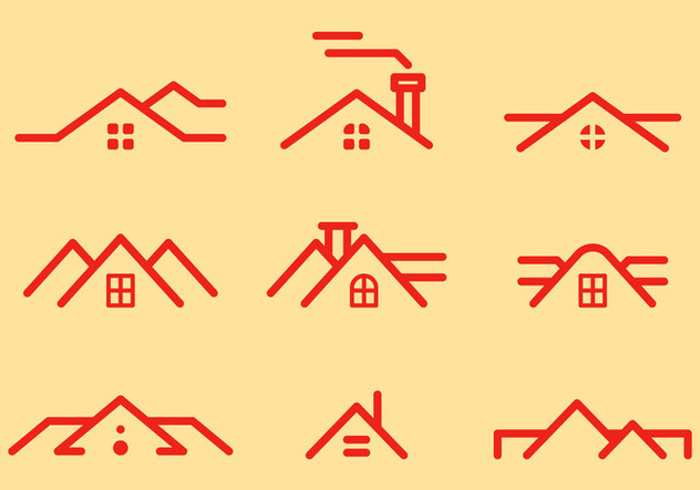 Free Rooftops Vector 1 - Free vector #372405