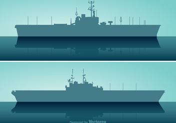 Free Aircraft Carrier Vector Set - бесплатный vector #373015