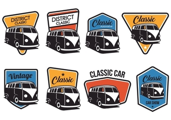 Free Classic Badge Vector - Free vector #373265