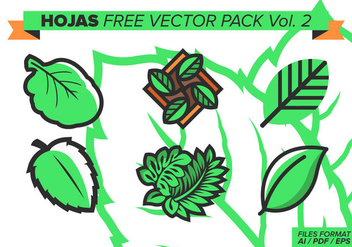 Hojas Free Vector Pack Vol. 2 - Free vector #373405