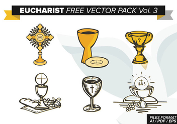 Eucharist Free Vector Pack Vol. 3 - бесплатный vector #373885