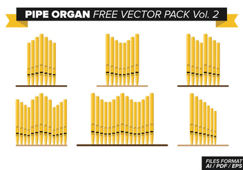 Pipe Organ Free Vector Pack Vol. 2 - vector gratuit #373895