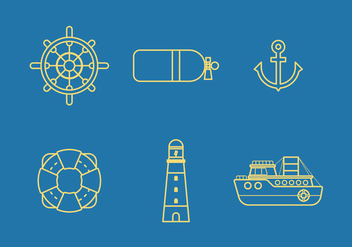 Free Nautical Vector 2 - Kostenloses vector #374035