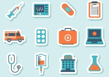 Free Medical Icons Vector - бесплатный vector #374395