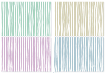 Hand Drawn Stripe Patterns - Kostenloses vector #374525