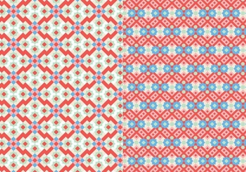 Stitch Mosaic Pattern - бесплатный vector #374755
