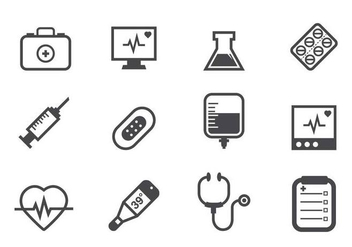 Free Medical Icons - vector gratuit #374805