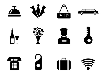 Free Concierge Vector Icons - Kostenloses vector #374895