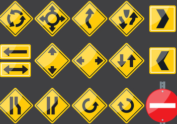Transit Signs - Free vector #374955