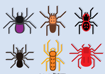 Tarantula Collection vector - Free vector #374965