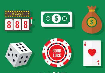 Casino Element Vector - Free vector #375025