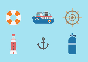 Free Nautical Vector 1 - vector #375055 gratis