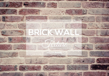 Brick Wall Texture - Free vector #375065