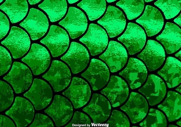 Fish Scales Vector Pattern - Free vector #375265