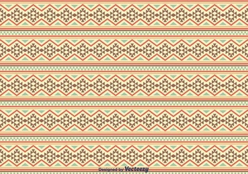 Native American Pattern Background - vector #375345 gratis