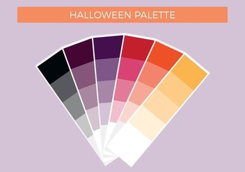 Free Halloween Vector Palette - Free vector #375365