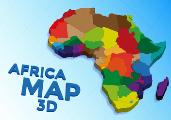 Africa Map Vector Free - Free vector #375645
