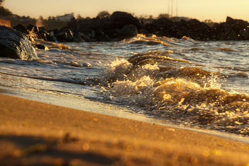 Morning waves - image #375895 gratis