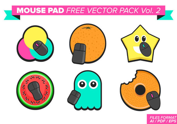 Mouse Pad Free Vector Pack Vol. 2 - vector #375935 gratis
