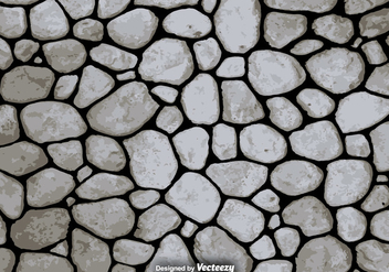 Vector Stone Texture - Vector Background - vector #376235 gratis