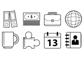 Free Office and Business Icon Vectors - Free vector #376315