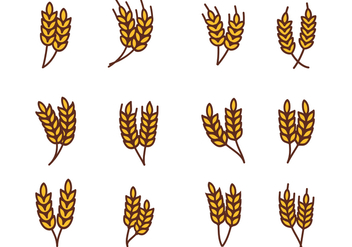 Free Wheat Vector - vector #377295 gratis