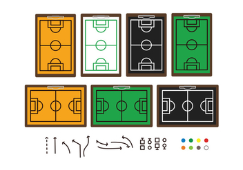 Football Play Icon - vector #377305 gratis
