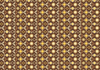 Yellow Mosaic Pattern - бесплатный vector #377515