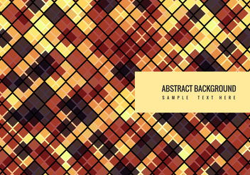 Vector Colorful Mosaic Background - vector gratuit #377575