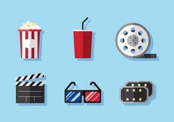 Vector Cinema - vector #377835 gratis